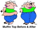 Muffin Top Pig