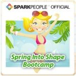 SparkPeople Spring into Shape Bootcamp Challenge