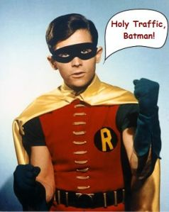 Holy Traffic Batman