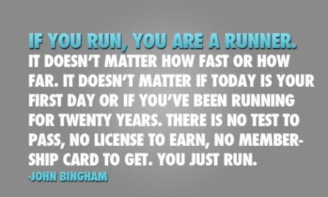 If You Run You Are A Runner